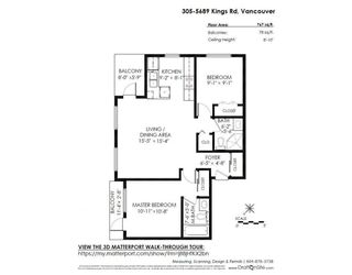 "Photo 20: 305 5689 KINGS Road in Vancouver: University VW Condo for sale in ""GALLERIA"" (Vancouver West)  : MLS®# R2285641"