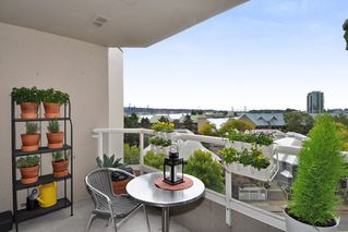 "Photo 1: 605 1045 QUAYSIDE Drive in New Westminster: Quay Condo for sale in ""Quayside Tower 1"" : MLS®# R2306018"