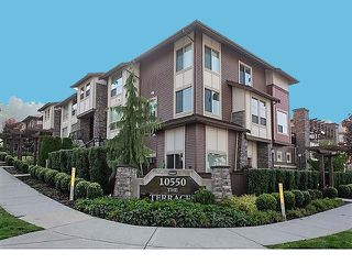 "Photo 1: 31 10550 248 Street in Maple Ridge: Thornhill MR Townhouse for sale in ""THE TERRACES"" : MLS®# R2319742"
