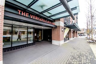 "Main Photo: 310 111 E 3RD Street in North Vancouver: Lower Lonsdale Condo for sale in ""THE VERSATILE"" : MLS®# R2333960"