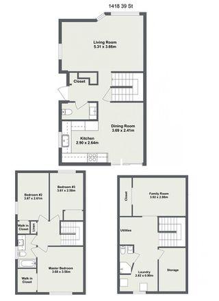 Photo 30: 1418 39 Street in Edmonton: Zone 29 House Half Duplex for sale : MLS®# E4152087