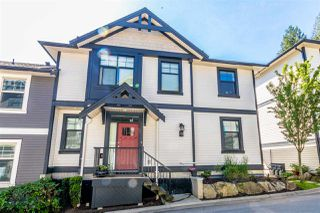 """Photo 1: 13 35298 MARSHALL Road in Abbotsford: Abbotsford East Townhouse for sale in """"EAGLES GATE"""" : MLS®# R2470755"""