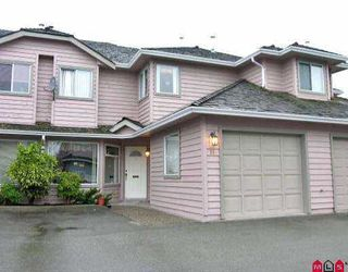 "Photo 1: 26 9727 152B ST in Surrey: Guildford Townhouse for sale in ""Westwood Estate"" (North Surrey)  : MLS®# F2523408"