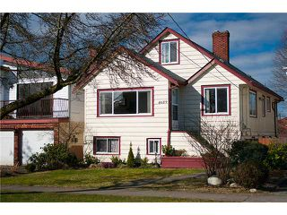 "Photo 1: 4689 GOTHARD Street in Vancouver: Collingwood VE House for sale in ""COLLINGWOOD"" (Vancouver East)  : MLS®# V872513"