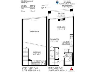 """Photo 10: 422 289 ALEXANDER Street in Vancouver: Hastings Condo for sale in """"THE EDGE"""" (Vancouver East)  : MLS®# V890176"""