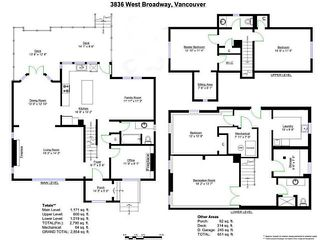 Photo 3: 3836 W BROADWAY ST in Vancouver: Point Grey House for sale (Vancouver West)  : MLS®# V1040544