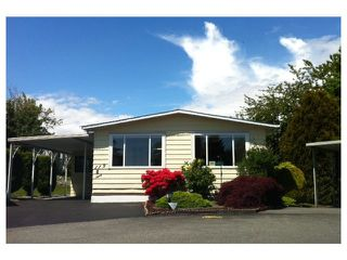 Photo 1: 113 15875 20TH Avenue in Surrey: King George Corridor Manufactured Home for sale (South Surrey White Rock)  : MLS®# F1405449