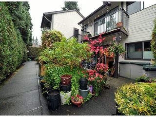 "Photo 17: 11 460 W 16TH Avenue in Vancouver: Cambie Townhouse for sale in ""Cambie Square"" (Vancouver West)  : MLS®# V1054620"