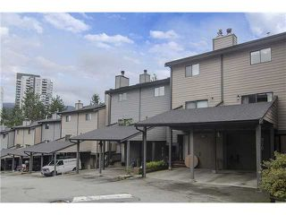 Photo 1: 279 BALMORAL Place in Port Moody: North Shore Pt Moody Townhouse for sale : MLS®# V1055065