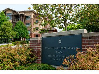 """Photo 2: 107 5885 IRMIN Street in Burnaby: Metrotown Condo for sale in """"MACPHERSON WALK"""" (Burnaby South)  : MLS®# V1133409"""
