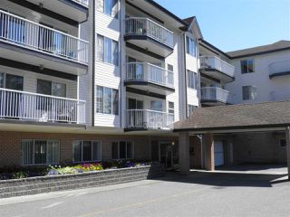 """Photo 1: 307 33535 KING Road in Abbotsford: Poplar Condo for sale in """"Central Heights Manor"""" : MLS®# R2198545"""