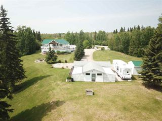 Photo 1: 6009 Highway 633: Rural Lac Ste. Anne County House for sale : MLS®# E4135311