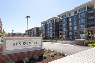 """Photo 1: 207 33540 MAYFAIR Avenue in Abbotsford: Central Abbotsford Condo for sale in """"The Residences at Gateway"""" : MLS®# R2326979"""