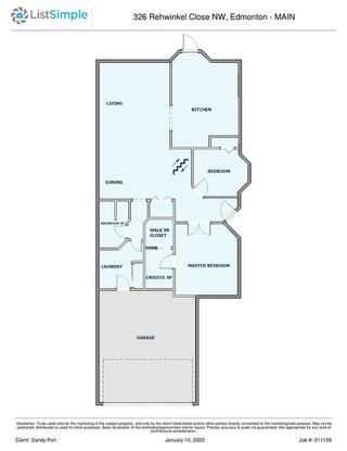 Photo 33: 326 REHWINKEL Close in Edmonton: Zone 14 House Half Duplex for sale : MLS®# E4184022