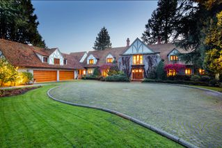 Photo 1: Prestige Landmark Waterfront Estate in West Vancouver: House for sale