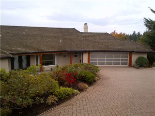 Photo 2: 1358 WHITBY RD in West Vancouver: Chartwell House for sale : MLS®# V984111