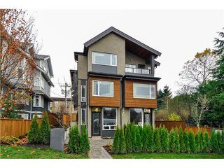 "Photo 1: 1806 E PENDER Street in Vancouver: Hastings Townhouse for sale in ""AZALEA HOMES"" (Vancouver East)  : MLS®# V1051665"