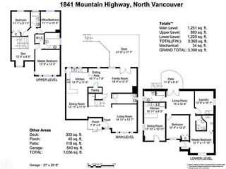 Photo 19: 1841 MOUNTAIN Highway in North Vancouver: Westlynn House for sale : MLS®# V1060817