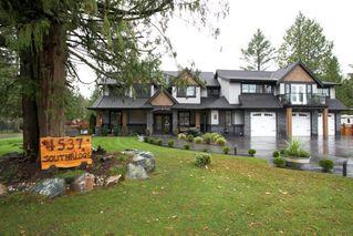 "Photo 1: 4537 SOUTHRIDGE Crescent in Langley: Murrayville House for sale in ""Murrayville - Southridge"" : MLS®# R2015764"