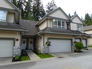 "Photo 1: 26 50 HETT CREEK Drive in Port Moody: Heritage Mountain Townhouse for sale in ""Mountainside"" : MLS®# R2080475"