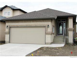 Photo 1: 15 Steve Mymko Drive in Winnipeg: Devonshire Village Residential for sale (3K)  : MLS®# 1624573