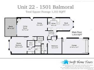 Photo 10: 22 1501 Balmoral Ave in COMOX: CV Comox (Town of) Row/Townhouse for sale (Comox Valley)  : MLS®# 747284