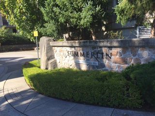 "Photo 1: 208 2958 WHISPER Way in Coquitlam: Westwood Plateau Condo for sale in ""Summerlin"" : MLS®# R2210932"