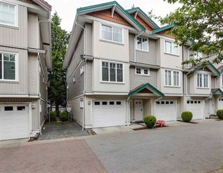 "Photo 1: 120 12711 64 Avenue in Surrey: West Newton Townhouse for sale in ""PALETTE ON THE PARK"" : MLS®# R2270457"
