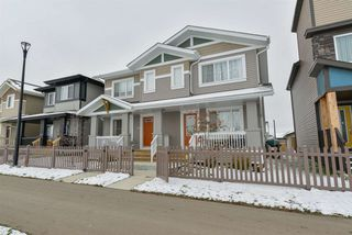 Main Photo: 4057 PROWSE Lane in Edmonton: Zone 55 House Half Duplex for sale : MLS®# E4132532