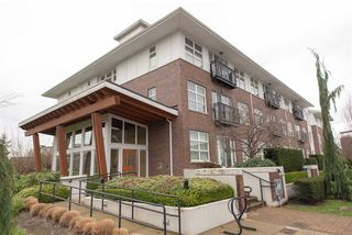 """Photo 1: 104 215 BROOKES Street in New Westminster: Queensborough Condo for sale in """"DUO AT PORT ROYAL"""" : MLS®# R2328505"""