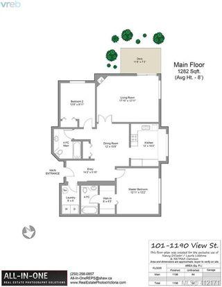 Photo 23: 101 1190 View Street in VICTORIA: Vi Downtown Condo Apartment for sale (Victoria)  : MLS®# 412171