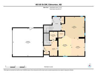 Photo 50: 403 85 Street in Edmonton: Zone 53 House for sale : MLS®# E4217665