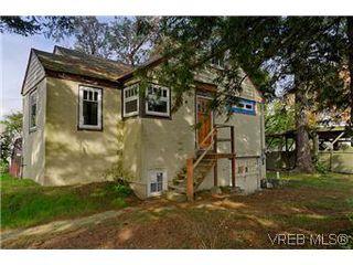 Photo 1: 3851 Carey Road in VICTORIA: SW Tillicum Single Family Detached for sale (Saanich West)  : MLS®# 301254