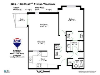 Photo 17: # 205 1845 W 7TH AV in Vancouver: Kitsilano Condo for sale (Vancouver West)  : MLS®# V1030758