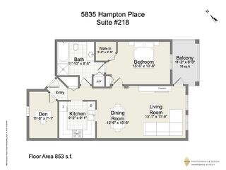 "Photo 20: 218 5835 HAMPTON Place in Vancouver: University VW Condo for sale in ""ST JAMES HOUSE"" (Vancouver West)  : MLS®# V1116067"