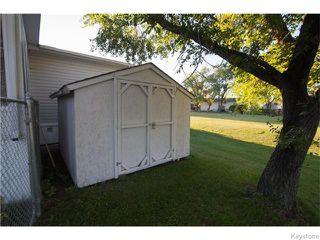 Photo 16: 13 Sunburst Crescent in WINNIPEG: St Vital Residential for sale (South East Winnipeg)  : MLS®# 1526737