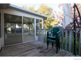 Photo 12: 13 Sunburst Crescent in WINNIPEG: St Vital Residential for sale (South East Winnipeg)  : MLS®# 1526737