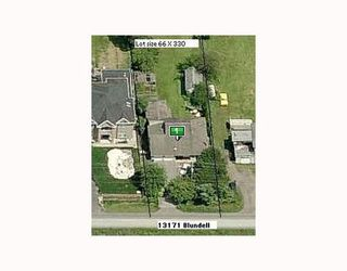 Photo 1: 13171 BLUNDELL Road: East Richmond Home for sale ()  : MLS®# V758351