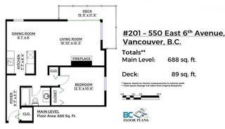 "Photo 2: 201 550 E 6TH Avenue in Vancouver: Mount Pleasant VE Condo for sale in ""LANDMARK GARDENS"" (Vancouver East)  : MLS®# R2122920"