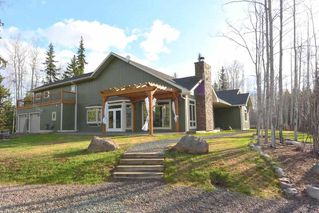 Photo 1: 5120 Derbyshire Road Rural Smithers BC | 4.99 Acres with Custom Built Home