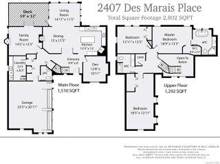 Photo 12: 2407 DESMARAIS PLACE in COURTENAY: CV Courtenay North House for sale (Comox Valley)  : MLS®# 757896
