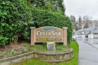 "Photo 2: 118 8655 KING GEORGE Boulevard in Surrey: Bear Creek Green Timbers Townhouse for sale in ""Creekside Village"" : MLS®# R2250326"
