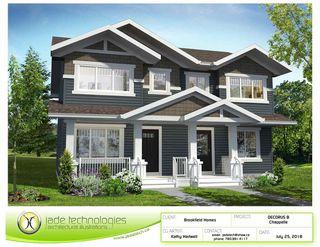 Photo 1: 4339 Cooke Lane in Edmonton: Zone 55 House Half Duplex for sale : MLS®# E4159740