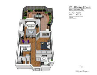 "Photo 19: 105 2256 W 7TH Avenue in Vancouver: Kitsilano Condo for sale in ""Windgate"" (Vancouver West)  : MLS®# R2378152"