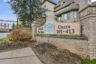 "Main Photo: 312 12125 75A Avenue in Surrey: West Newton Condo for sale in ""Strawberry Hill Estates"" : MLS®# R2385799"