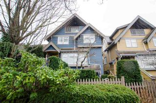 Photo 1: 1672 GRANT Street in Vancouver: Grandview Woodland Townhouse for sale (Vancouver East)  : MLS®# R2430488