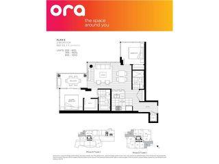 "Photo 2: 1205 6971 ELMBRIDGE Way in Richmond: Brighouse Condo for sale in ""Ora II"" : MLS®# R2437849"