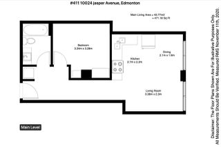 Photo 31: 411 10024 JASPER Avenue in Edmonton: Zone 12 Condo for sale : MLS®# E4220975