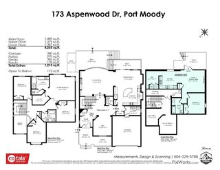 Photo 40: 173 ASPENWOOD DRIVE in Port Moody: Heritage Woods PM House for sale : MLS®# R2494923