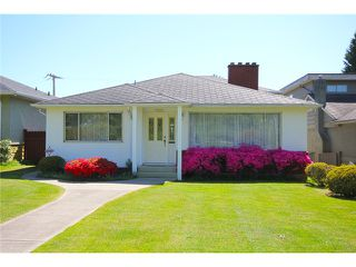 Main Photo: 332 W 62ND AV in Vancouver: Marpole House for sale (Vancouver West)  : MLS®# V995356